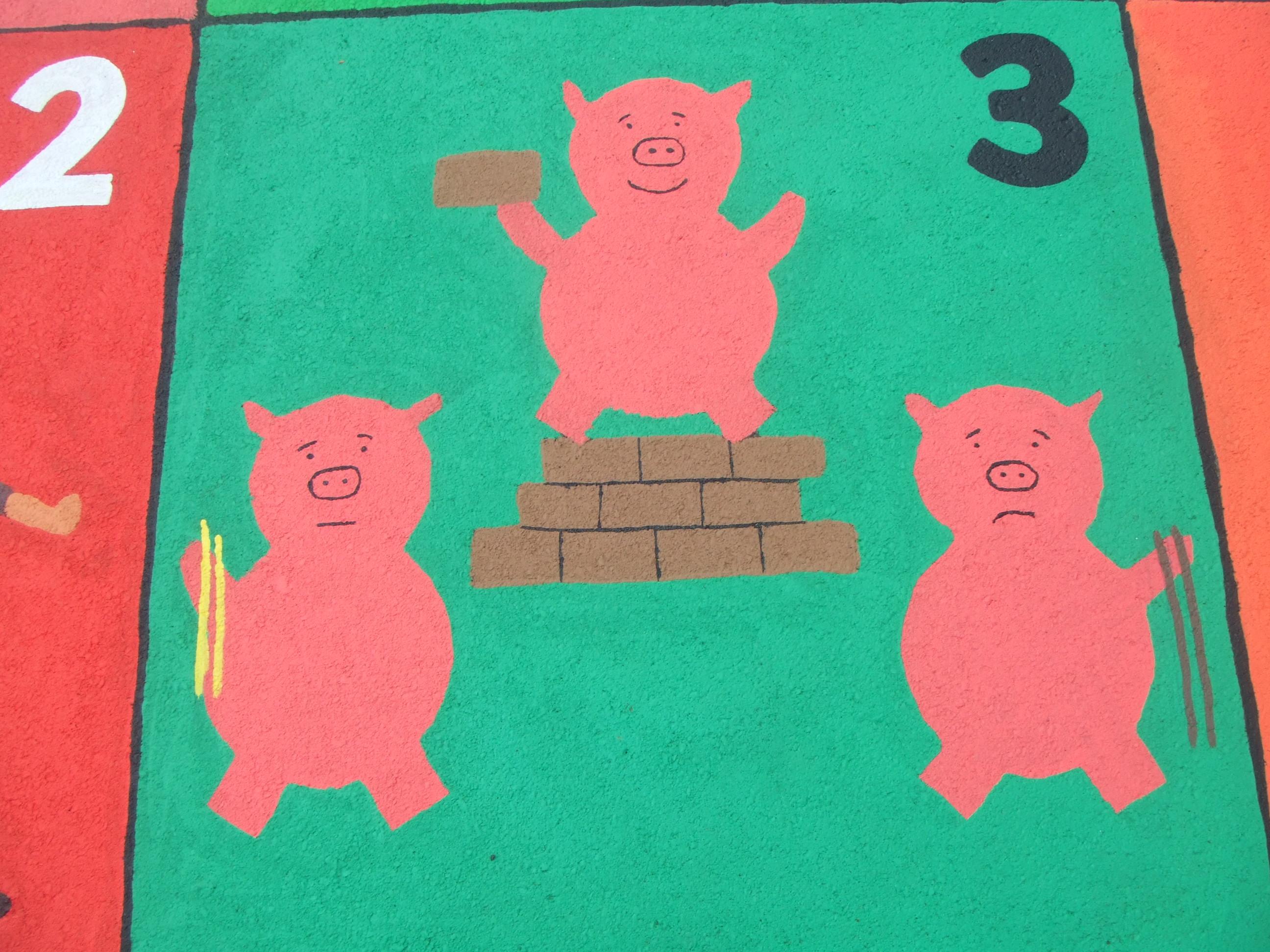 3. LITTLE PIGS
