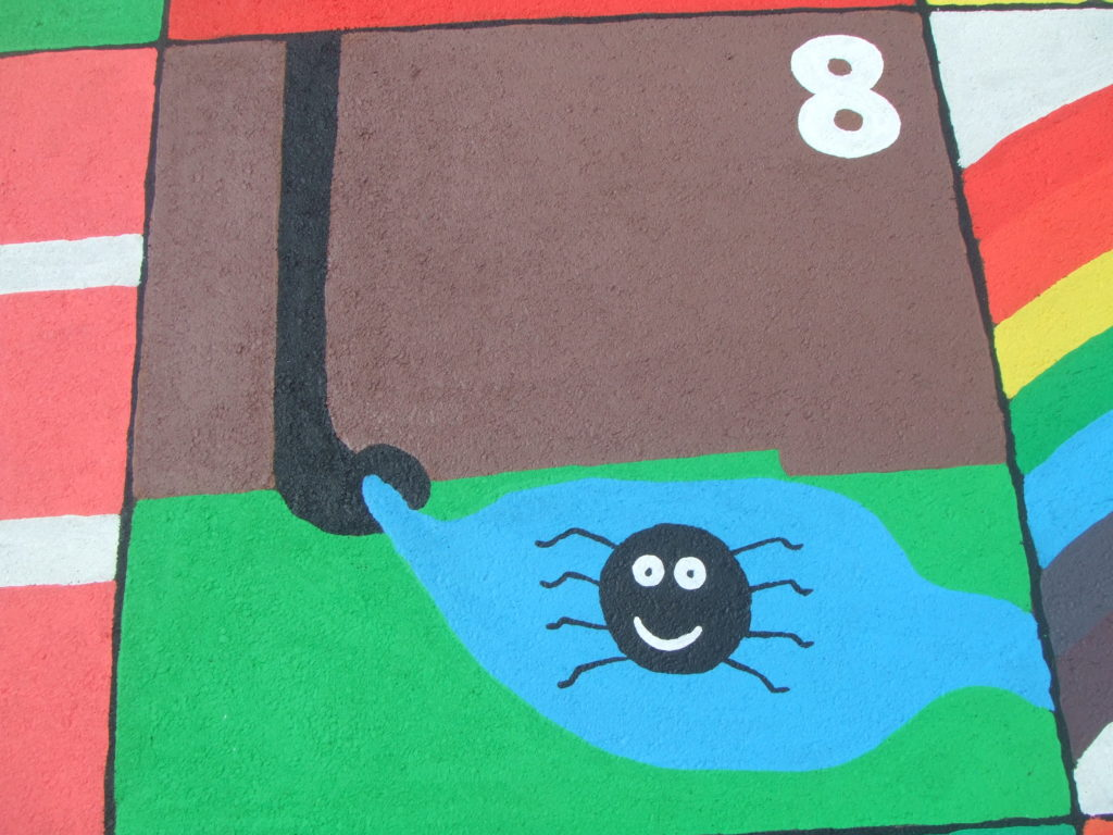 8.INCY WINCY SPIDER